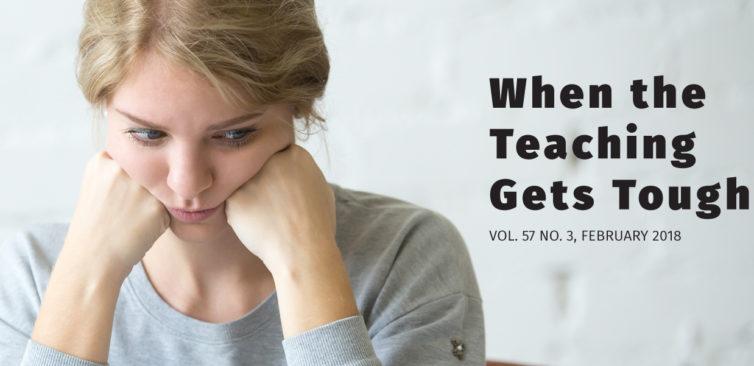 When Teaching Gets Tough